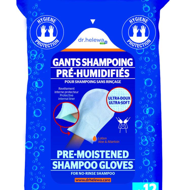 gant de toilette cheveux